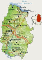 Province of Lugo road map