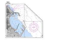 Port of Melilla nautical chart