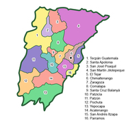 Municipalities of Chimaltenango