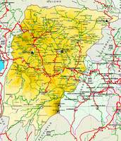 Map of Chimaltenango