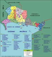 Central America and the Caribbean Political Map