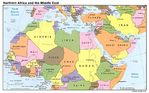 Northern Africa and the Middle East 1995