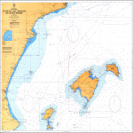 Balearic Islands nautical chart 1978