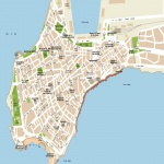 Alicante access map