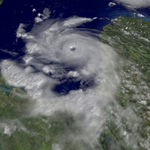 Hurricane Iris Hits Belize