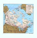 Mapa Político de Canadá