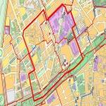 Densidad demográfica de Sevilla 2000