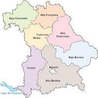 Administrative divisions of Bavaria 2009