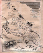 Northwestern Costa Rica Map 1865