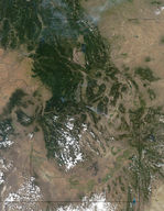 Fires in Idaho and western Montana