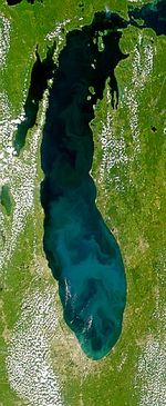 Lake Michigan Bloom