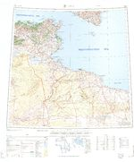 Intibucá Department Map, Honduras