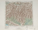 Dedeaux, Topographic Map Prototype, Mississippi, United States, September 12, 2005
