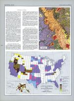 Estados Unidos Cartografía Geológica Explication