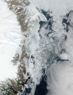Northeast coast of Greenland