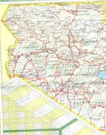 South Western Guatemala Map