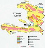 Haiti Economic Activity Map