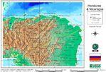 Mapa de Honduras Oriental