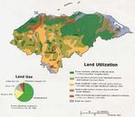 Honduras Land Use and Land Utilization Map