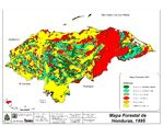 Honduras Forestry Map