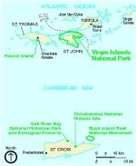 Virgin Islands National Park (Area Map)
