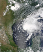 Tropical Storm Claudette, Gulf of Mexico