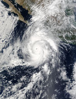 Hurricane Kenna off Mexico