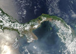 Satellite Image, Photo of Panama