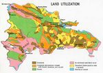 Dominican Republic Land Utilization Map