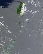 Satellite Image, Photo of Saint Vincent and the Grenadines