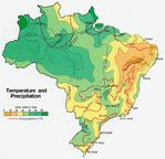 Brazil Temperature and Precipitation
