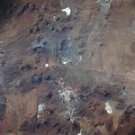 Satellite Image, Photo of Lascar Volcano, Chile