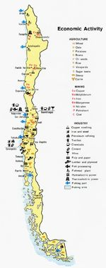 Chile Economic Activity Map