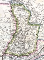 Paraguay Map 1875