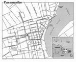 Mapa de la Ciudad de Paramaribo