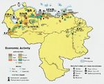 Venezuela Economic Activity Map
