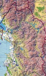 Central and Northern Albania Tactical Pilotage Chart