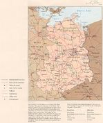 Former East Germany Political Map