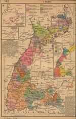 German States Map Before and Since the French Revolution
