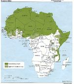 Mapa del Islam en frica