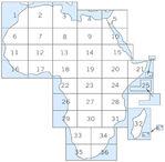 Mapa Topográfico de la Ciudad de Aberdeen, Misisipi, Estados Unidos
