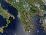 Satellite Image, Photo of Rio Grande, Bolivia