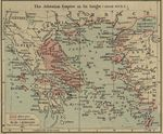 Map of the Athenian Empire at its Height (About 450 B.C.)