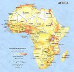 Africa Population Density 1979