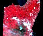 Satellite Image, Photo of Saint Lucia