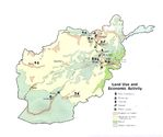 Afghanistan Land Use and Economic Activity Map