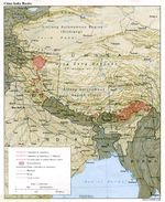 Mapa de la Frontera China - India