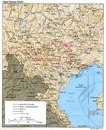 Mapa de la Frontera China - Vietnam