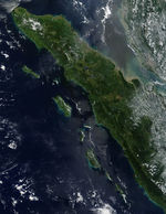 Fires in Sumatra, Indonesia