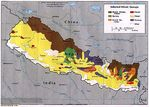 Mapa de los Grupos Étnicos de Nepal